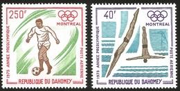 V) 1975 DAHOMEY, PRE-OLYMPIC YEAR, MONTREAL CANADA, MNH - Benin - Dahomey (1960-...)