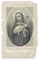IMAGE RELIGIEUSE / O JESUS RECEVEZ MOI DANS VOTRE SAINT BERCAIL - Devotion Images