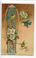 Oiseaux Fleurs Art Déco - Autres