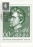 BERLIN 637, Maximumkarte, Edition Hagenbach 1/1981, Achim Von Arnim 1981 - [5] Berlin