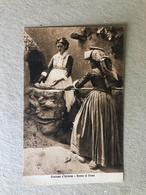 COSTUME D'IGLESIAS  DONNE AL FORNO   1932 - Costumi
