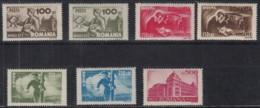 RUMÄNIEN  867-873, Postfrisch **, Postwesen 1945 - Neufs