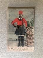 RIGATTIERE DI CAGLIARI (SARDEGNA)   COSTUME 1904 - Costumes