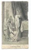 IMAGE RELIGIEUSE / L'ANNONCIATION - Images Religieuses
