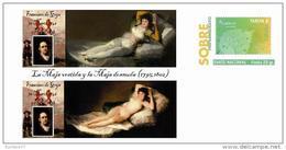 Spain 2013 - Francisco De Goya (Spain) - Special Prepaid Cover - Arte