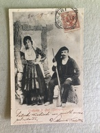 COSTUME DI OSSI (SARDEGNA)   1903 - Costumi