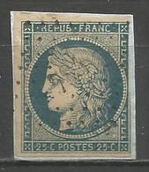 FRANCE - Oblitération Petits Chiffres LP 784 CHATEAUNEUF-DE-MAZENC (Drôme) - Storia Postale (Francobolli Sciolti)