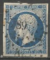 FRANCE - Oblitération Petits Chiffres LP 789 CHATEAUNEUF-LA-FORET (Haute-Vienne) - Marcophilie (Timbres Détachés)