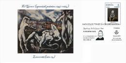 Spain 2014 - Doménikos Theotokópoulos (EL GRECO) Collection - Special Conmemorative Cancellation - Arte