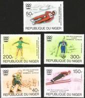 V) 1976 NIGER, 12TH WINTER OLYMOIC GAME, AUSTRIA, INNSBURCK, MNH - Niger (1960-...)