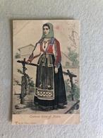 COSTUME RICCO DI NUORO (SARDEGNA)    1904 - Costumi