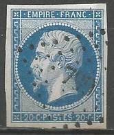 FRANCE - Oblitération Petits Chiffres LP 799 CHATELAUDRAN (Côtes D'Armor) - Marcophilie (Timbres Détachés)