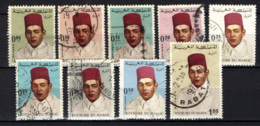MAROCCO - 1968 - EFFIGIE DEL RE HASSAN II - USATI - Marocco (1956-...)
