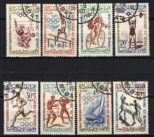 MAROCCO - 1960 - OLIMPIADI DI ROMA - USATI - Marocco (1956-...)