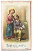 IMAGE RELIGIEUSE / MON JESUS AIDEZ MOI A APPRENDRE MON CATECHISME - Images Religieuses