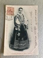 COSTUME GIOVANETTA DI NUORO (SASSARI)    1903 - Costumi