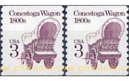 Ref. 311146 * MNH * - UNITED STATES. 1988. CARRUAJES - United States