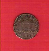 Convention Sol Aux Balances AnII 1793 République Françoise BB Strasbourg - 1789 – 1795 Monete Costituzionali