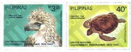 Ref. 33619 * MNH * - PHILIPPINES. 1982. 10th ANNIVERSARY OF UN CONFERENCE ON ENVIRONMENT . 10 ANIVERSARIO DE LA CONFEREN - Philippines
