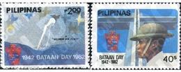 Ref. 313291 * MNH * - PHILIPPINES. 1982. 40 JORNADA DE BATAAN - Philippines