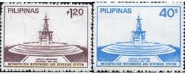 Ref. 313288 * MNH * - PHILIPPINES. 1982. 100 ANIVERSARIO DE WATERWORKS - Philippines