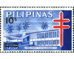 Ref. 313289 * MNH * - PHILIPPINES. 1982. FIGHT AGAINST TUBERCULOSIS . LUCHA CONTRA LA TUBERCULOSIS - Médecine