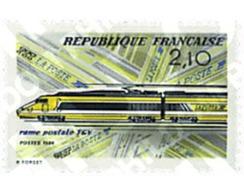 Ref. 59729 * MNH * - FRANCE. 1984. INAUGURATION OF THE POSTAL TGV . INAUGURACION DEL TGV POSTAL - France