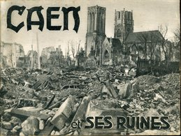Caen Et Ses Ruines Raymond Jacques 25 Photographies 21x16cm - Oorlog 1939-45