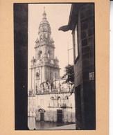 SANTIAGO De COMPOSTELLA 1929 Photo Amateur Format Environ 7,5 Cm X 5,5 Cm - Plaatsen