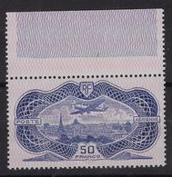 France 1936 - Burelé - Signé Et Avec Certificat Calves - Yvert Poste Aérienne N°15 - Airmail