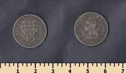 Sao Tome And Principe 10 Centavos 1929 - Sao Tome And Principe