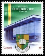CANADA 2004, #2033  UNIVERSITIES   Sherbrooke (QC) Single - Neufs