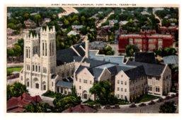 Texas Fort Worth , First Methodist Church - United States