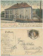 AK Karlsbad, Gasthaus Bergwirtshaus, Sudetenland, Nach Berlin Gelaufen - Sudeten