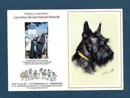 Calendrier De Poche, Petit Format; Chien ; 2011; Germaine Bouret - Calendriers