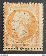 1862, Emperor Napoléon Lll, 40c, Orange Terne, France, Empire Française - 1862 Napoleon III