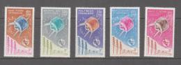 SPACE -  FRENCH COLS - 1965 -ITU  FOR COMOROS,  N CALEDONIA, POLYNESIA , ST PIERRE&  W FUTUNA MH-VERY FINE  SG £145 - Europe