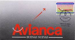 Lote 1878F, Colombia, 1992, SPD - FDC, Nuevas Aeronaves, Mc Donnell Douglas, Airplane Aircraft - Colombia