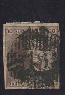 COB N°1 Oblitération D19 Givry - 1849 Epaulettes