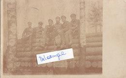 Foto Schreibstube Vor Dünaburg 1916 IR151  Sensburg Bischofsburg Deutscher Soldat 1.Weltkrieg - Krieg, Militär