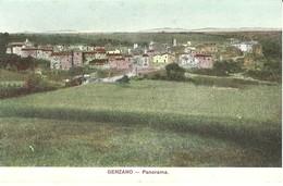 "4795 "" GENZANO-PANORAMA  ""(LUCANIA)- CART. POST. ORIGINALE NON SPED. - Potenza"