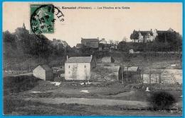 CPA 29 KERSAINT Finistère - Les Moulins Et La Grève - Kersaint-Plabennec
