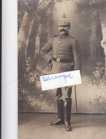 Foto Feldartillerie Abtl. 766 Sigmaringen Pickelhaube Deutscher Soldat 1.Weltkrieg - Krieg, Militär