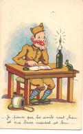 """Je Panse Que Les Sivils"" Militaria Humour ILLUSTRATEUR - Umoristiche"