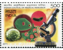 Ref. 601670 * MNH * - INDIA. 2011. CONFERENCIA SOBRE INVESTIGACIÓN MÉDICA - Indien