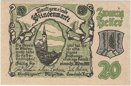 Austria (NOTGELD) 20 Heller 19-3-1920 Blindenmarkt KON 93 II.a.2 UNC - Austria