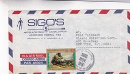 1972 HONDURAS COMMERCIAL COVER-SIGOS, CIRCULEE TO USA- BLEUP - Honduras