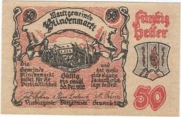 Austria (NOTGELD) 50 Heller 19-3-1920 Blindenmarkt KON 93 II.a.3 UNC - Austria