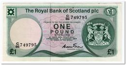 SCOTLAND,1 POUND,1984,P.341,XF - [ 3] Scotland