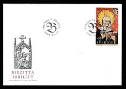 SWEDEN 2003 St Birgitta's Jubilee/Heliga Birgitta Jubileet: First Day Cover CANCELLED - FDC
